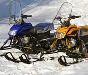 Аренда снегоходов на базе отдыха Орельский Двор.