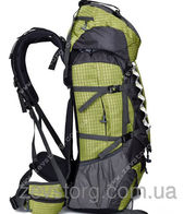 Рюкзак туристический JINSHIWEIQ объем 70+5л красный