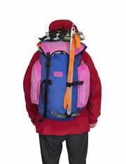 Рюкзак V = 36 л + 6 л карманы. Туризм,  альпинизм.