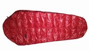 Облегчённый пуховый спальный мешок кокон на рост до 170 см.